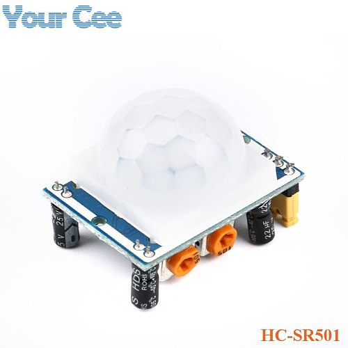 HC-SR501 Adjust IR Pyroelectric Infrared PIR Motion Sensor Switch Human Body Sensor Detector Module Bracket  DIY KIT
