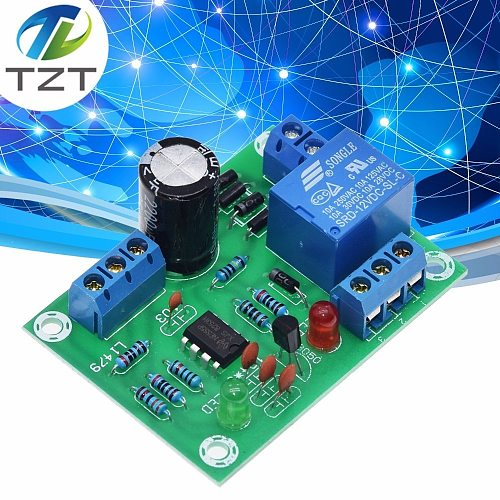 TZT Water Level Controller Switch Liquid Level Sensor Module Automatically Pumping Drainage Protection Controlling Circuit Board