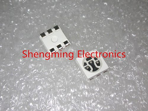 100pcs SMD 5050 Red Green Blue White Yellow Warm White Pink RGB light LED diode High Power Super Bright