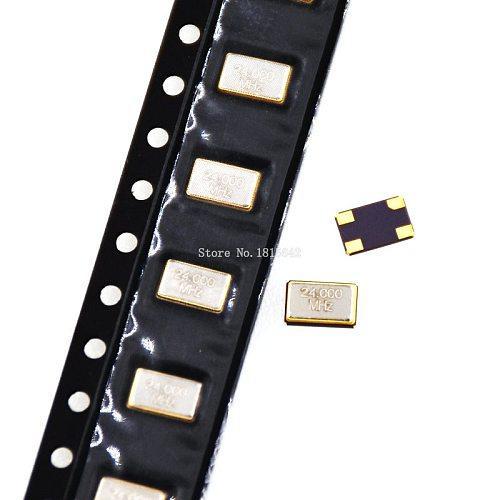 5PCS 5.0*3.2mm 4 pins SMD Oscillator 12MHZ 12M 12.000mhz 5032 Active Crystal Oscillator