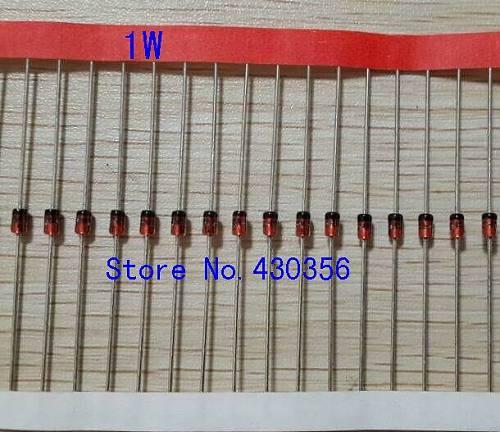 Free shipping  50pcs    1N4761A   1W   75V    Zener diode