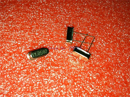 35pcs/lot 7values*5pcs=332.768Khz 6Mhz 8Mhz 11.0592Mhz 12Mhz 16Mhz 20Mhz DIP-2 Crystal Oscillator HC-49S new and