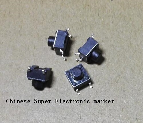 20PCS Micro Tact Switch SMD 4Pin 0.5A 50V Push Button Switches 6x6x4.3mm 6x6x5mm 6x6x6mm 6x6x7mm 6x6x8mm 6x6x9mm 6x6x10mm 6x6x11
