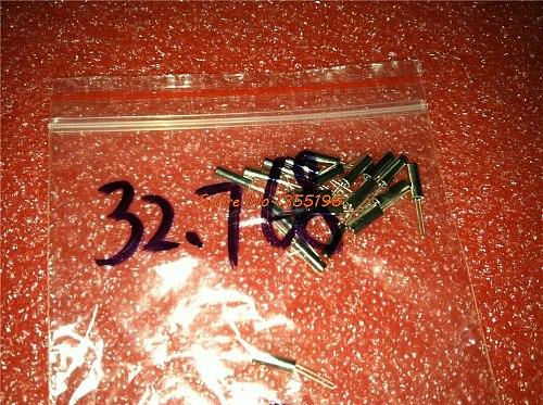 20pcs/lot 32.768KHz Error 20ppm 3*8 3x8 32.768K 12.5pF Cylinder quartz resonator In Stock