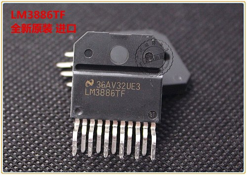 4PCS/10PCS LM3886TF chip ZIP-11 original NS/national half LM3886 audio amplifier imported plastic seal free shipping