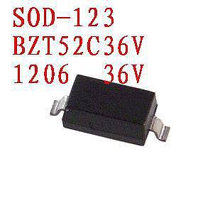 100PCS  SOD-123 Zener diode BZT52C20V  BZT52C18V  BZT52C16V  BZT52C15V  BZT52C13V  BZT52C12V  BZT52C11V  BZT52C10V  BZT52C9V1