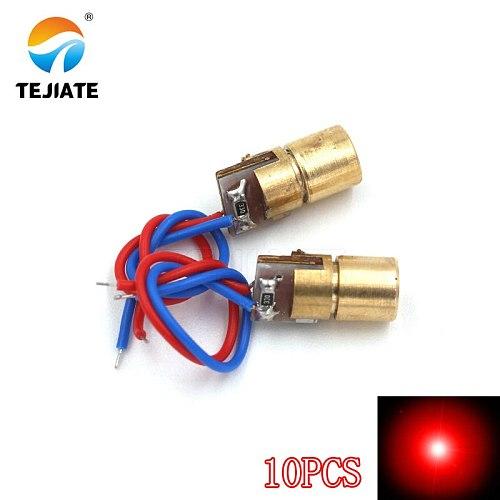 laser diode laser head 5mW 650nm red dot/line /cross laser tube infrared laser sensor module adjustable focal length 3V/5V
