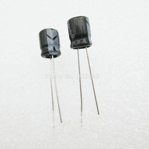 20PCS/LOT 47uF 25V Aluminum electrolytic capacitor 5*7 Electrolytic Capacitor 25v 47uf