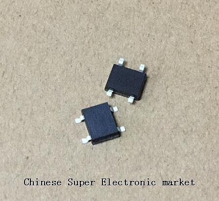 100pcs ABS10 SOP-4 SMD Rectifier bridge pile IC chip