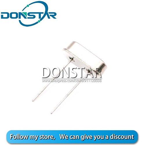 10Pcs/lot HC-49S Crystal Oscillator 18.432MHZ DIP-2 18.432 Mhz 18.432M Oscillator Quartz Resonator