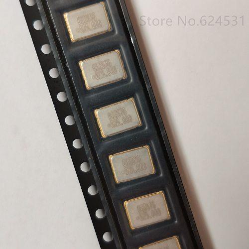 10pcs 5070 7050 SMD Active Crystal Oscillator 25MHZ 25.000MHZ 25M 5 * 7 OSC Resonator