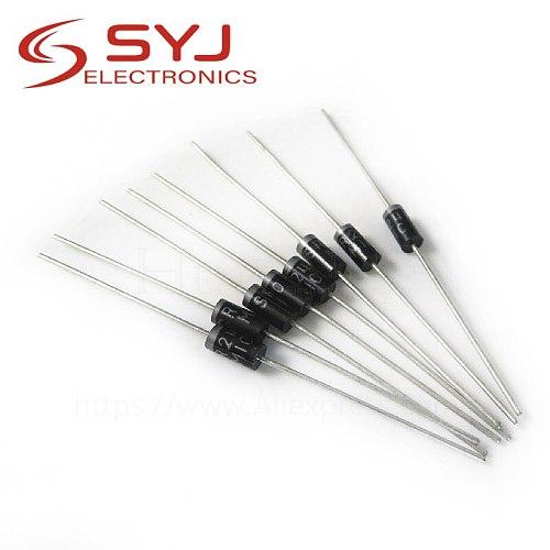 20PCS Schottky Rectifier Diode SR240 SR260 SR360 SR540 SR560 SR2100 SR3100 SR3200 SR5100 SR5150 SR5200 DO-41 DO-27 In Stock