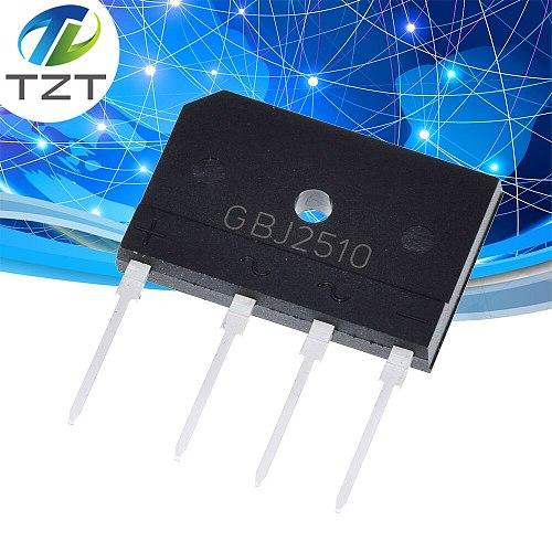 5PCS 25A 1000V diode bridge rectifier gbj2510