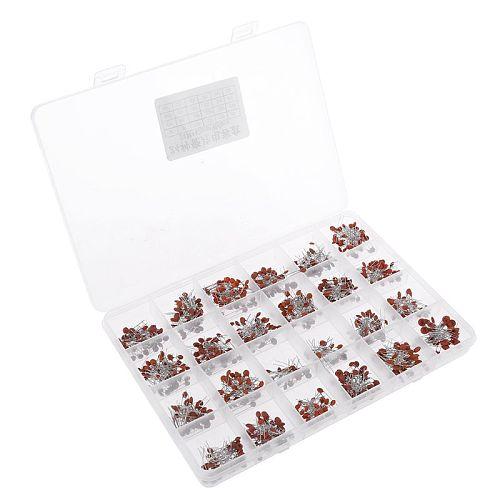 960pcs  24value*40pcs=960pcs 50V Ceramic Capacitor Assorted kit Assortment Set +  Box Whosale & Dropship