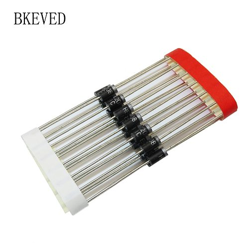 100PCS HER208 DO-41 Fast Switching Rectifier Diode 2A 1000V