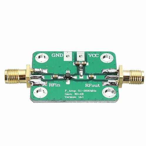 1-2000MHz High Frequency RF 30dB Radio Frequency Broadband Signal Amplifier Board