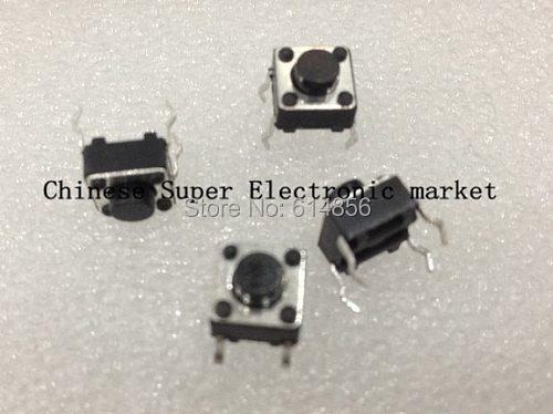 100pcs/LOT  Tactile Push Button Switch 6x6x5mm 6*6*5mm
