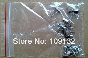 Commonly used specifications crystals 12 M  11.0592 M 32.768 K 16 M of 15 kinds of each 1pcs, a total of 15 pcs
