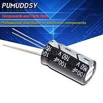 10PCS Higt quality 160V100UF 13*20mm 100UF 160V 13*20 Electrolytic capacitor