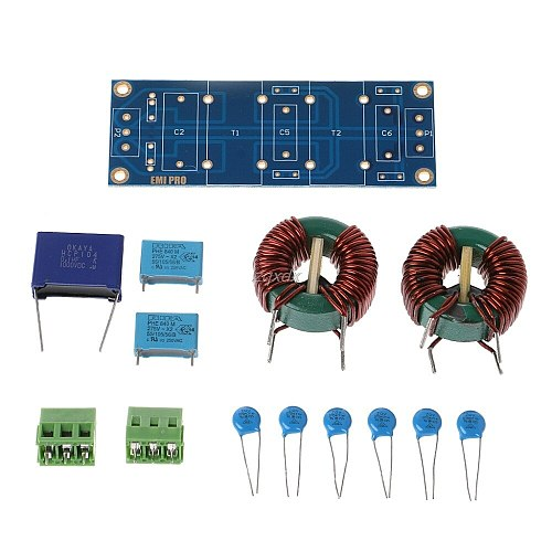 3900W EMI 18A High Frequency Power Filter Board DIY Kits For Speaker Amplifier Drop ship