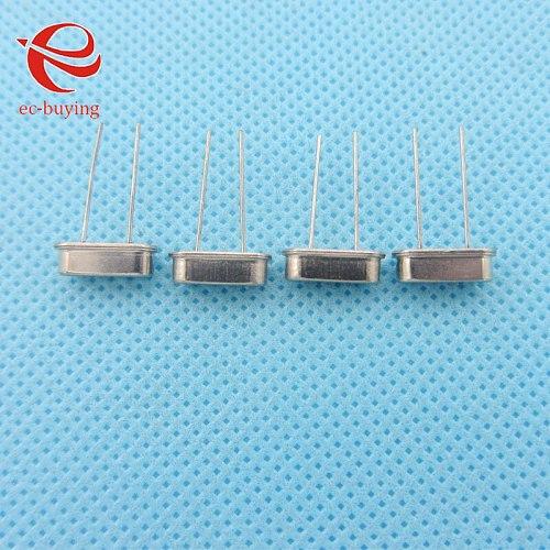 100pcs/lot Crystal Oscillator 12MHz 12 MHz 12M Hz Mini Passive Resonator Quartz HC-49S