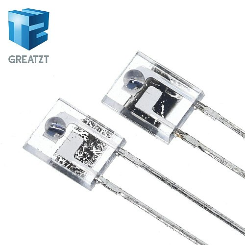GREATZT 10pcs/lot Brand new original PT908-7C-R infrared receiving tube square side photosensitive receiving diode