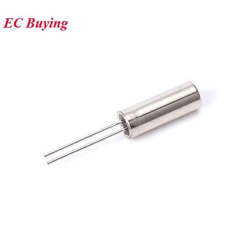10pcs 32.768kHz 32.768 kHz 32768HZ 32.768k Hz Frequency Oscillator Crystal Cylender 3X8 mm 3*8mm 3X8MM 3mmx8mm 3mm*8mm