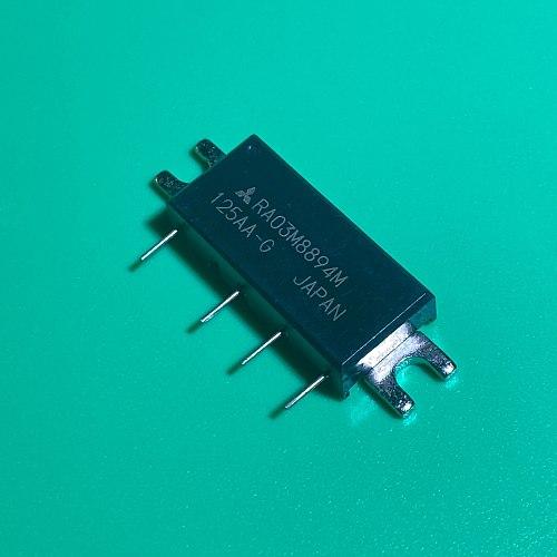 RA03M8894M H46S MODULE RA03M8894 M 889-941MHz 3.6W 7.2V, 2 Stage Amp. For PORTABLE RADIO RA03M8894M-101 RA03M 8894M RA03 M8894M