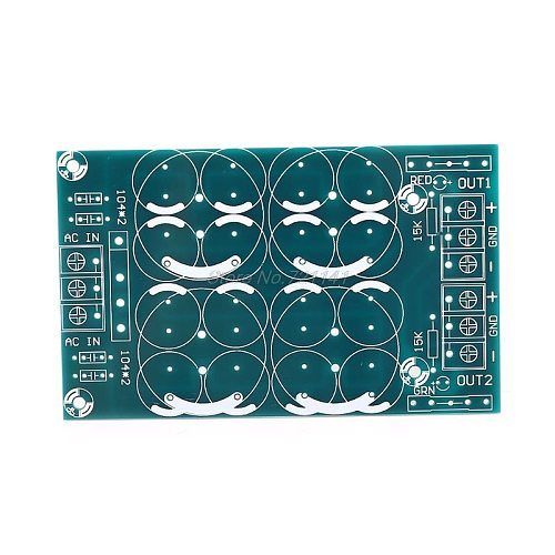 Rectifier Filter Power Supply Board Dual Power Parallel Output PCB Bare Board Dropship