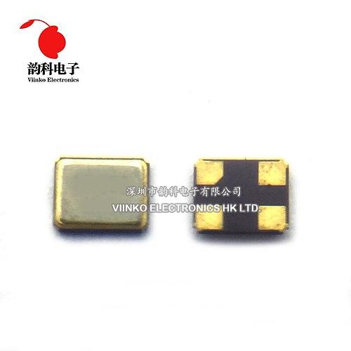 10PCS 3225 4PIN 3.2*2.5mm 16MHz 16M 16.000MHZ Passive SMD Quartz Resonator Crystal