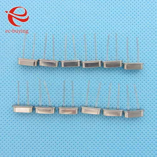 50pcs/lot 11.0592MHz 11.0592 MHz 11.0592M Hz Mini Passive Resonator Quartz HC-49S  Crystal Oscillator