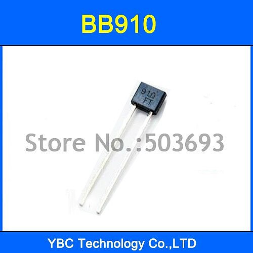 500pcs/lot BB910 Variable Capacitance Diode