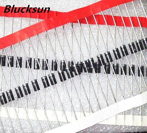 100pcs P6KE43A P6KE47A P6KE51A P6KE56A P6KE62A P6KE68A P6KE75A P6KE82A P6KE91A P6KE100A P6KE110A P6KE120A P6KE130A P6KE150A TVS