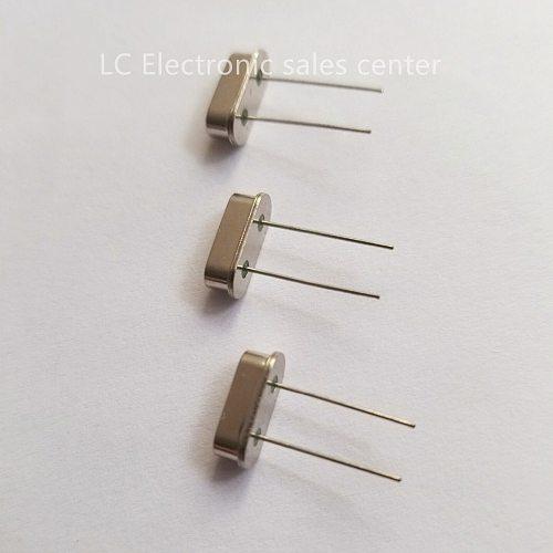 10pcs In-line passive crystal oscillator HC-49S 7.15909M 7.15909MHZ S-type DIP2 crystal resonator