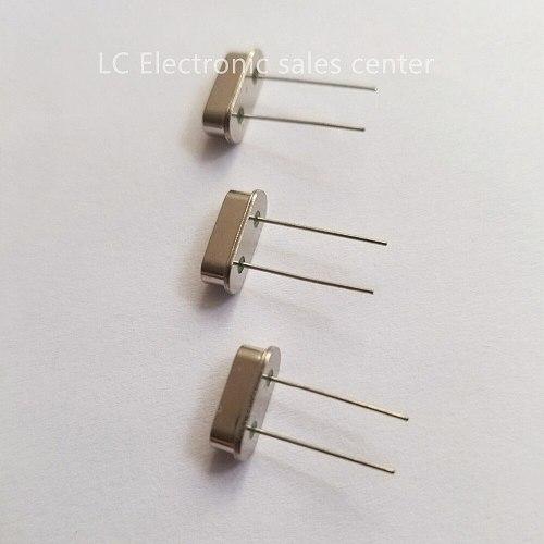 10pcs HC-49S in-line quartz crystal crystal 13.5MHZ 13.500MHZ resonator