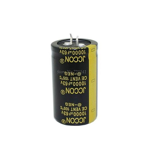 63V 10000uF 30X50mm 30X50 Aluminum Electrolytic Capacitor High Frequency Low impedance Through Hole Capacitor 30*50mm  Dropship