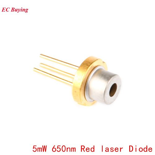 5pcs 5mW 650nm Red Laser Diode Sensor Laser Module 650NM Diodes DIY 5MW LED Electronics Design