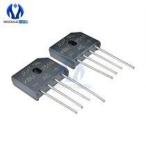 10PCS Diode Bridge Rectifier KBU1510 DIP KBU-1510 15A 1000V Ponte Retificador Electronica Componentes KBU 1510