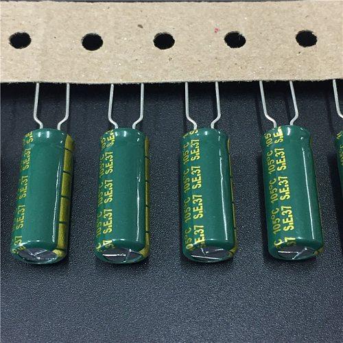 10pcs 330uF 25V SUNCON(SANYO) AX series 8x20mm 25V330uF Low Impedance LongLife Electrolytic Capacitor