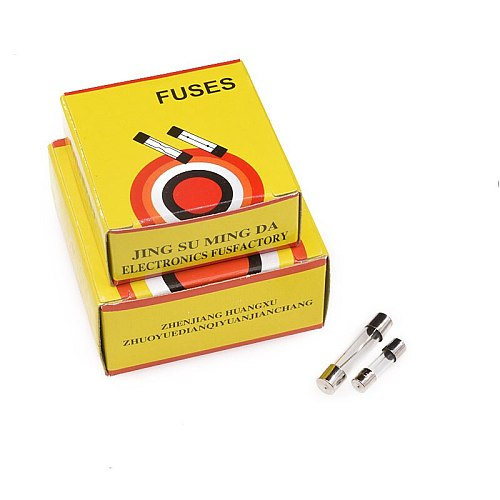 100pCS 250V 0.1A 0.2A 0.5A 1.25A 1.5A 3.15A 6.3A 1A 2A 3A 4A7A 10A-30A 5X20 5*20mm 6*30MM 6X30 Fast Blow Glass Fuse