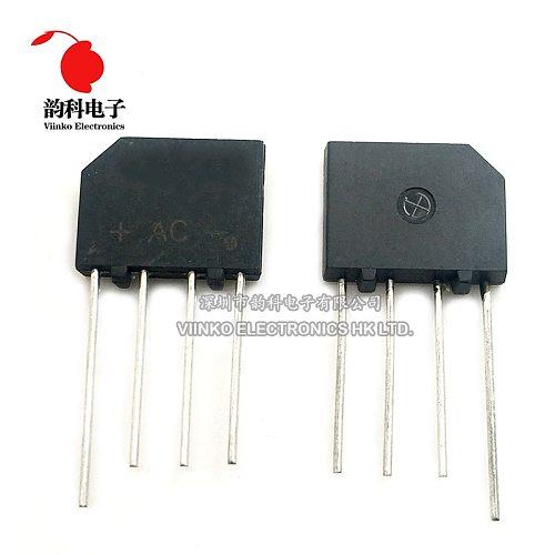 10PCS KBP206 KBP206G DIP Bridge Rectifier 2A 600V DIP-4