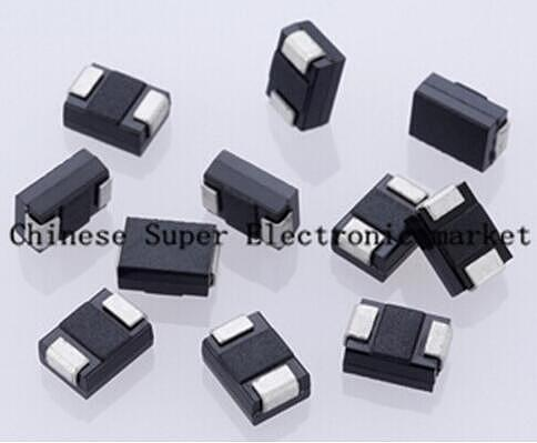 50PCS sma 1N5819 SMD IN5819 1A 40V do-214ac Schottky diode sk14