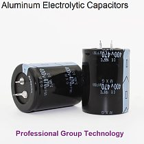 1pcs AT111 Good quality 400v470uf Radial DIP Aluminum Electrolytic Capacitors 400v 470uf Tolerance 20% size 30x45MM 20%