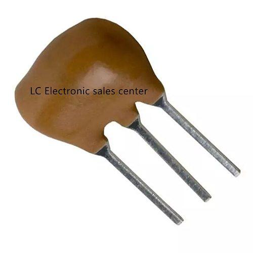 10pcs Ceramic crystal oscillator ZTT20M Ceramic resonator Crystal resonator Straight three-legged 20MHZ 3P