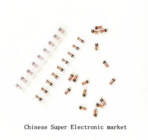 500PCS 1/2W Zener diode ZMM ZMM/9V1/10V/11V/12V/13V/15V/16V/18V/20V/22V/24V/27V/30V/33V/36V/39V 9.1V LL34 0.5W smd