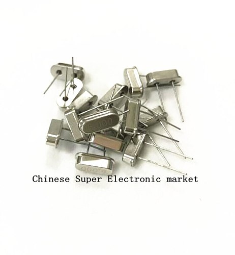 10PCS 4Mhz 6Mhz 8Mhz 12Mhz 16Mhz 20Mhz 24Mhz 32.768K 2*6 32.768K 3*8 Quartz Crystal Resonator Passive Oscillator HC 49S