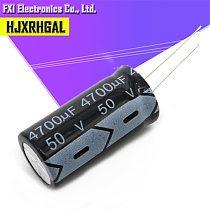 10PCS 50v4700uf 4700uf50v 18*35 50v 4700uf 18x35 Electro Electrolytic capacitor
