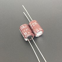 10pcs 150uF 35V NIPPON KY Series 8x11.5mm Low ESR 35V150uF Aluminum Electrolytic Capacitor