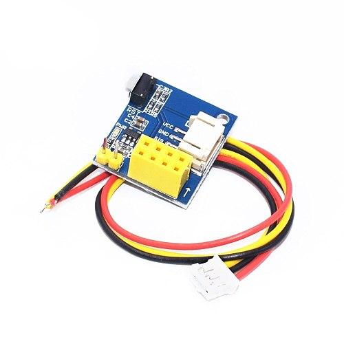 1 piece ESP8266 ESP-01 ESP-01S WS2812 RGB LED Controller Module IDE WS2812 Light Ring Smart Electronic DIY WS2812 H63