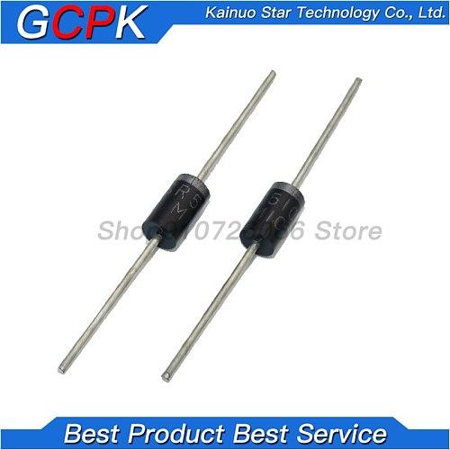 20PCS schottky diode SR5100 5A/ 100V DO -27 SB5100